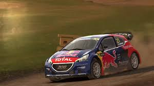 peugeot england dirt rally daily rx event england lydden hill full course w