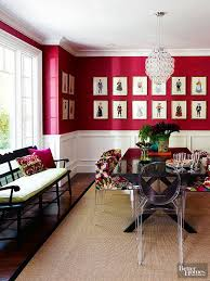decorating with shades of wine colors