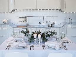 Christmas Modern Table Decoration by Modern White Christmas Decorations Designcorner