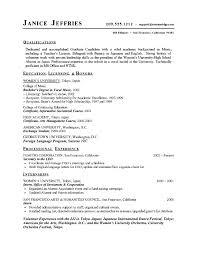 Accomplishment Based Resume Examples by Academic Staff Resume Sample