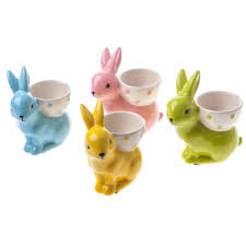 bunny egg cup gisela graham polka dot bunny egg cups gisela graham from mollie