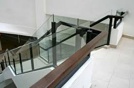 Stairway Banisters 19 Contemporary Glass Stair Railing Ideas Photos