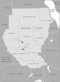 Map Of Sudan Multiple Crimean Congo Hemorrhagic Fever Virus Strains Are