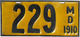 Maryland Flag Vans Vehicle Registration Plates Of Maryland Wikiwand