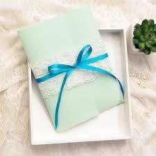 mint green ribbon affordable mint green lace ribbon pocket floral wedding