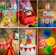 carnival party supplies circus carnival boy girl 5th birthday party planning ideas