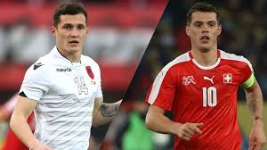shaqiri hairline euro 2016 group a albania vs switzerland aka xhaka vs xhaka