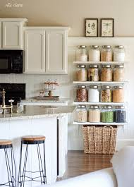 diy kitchen shelves diy country store kitchen shelves more pantry space ella claire