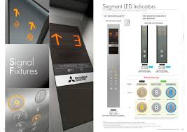 mitsubishi electric logo signal fixtures mitsubishi electric elevator escalator pdf