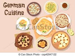 german cuisine traditional dinner icon german cuisine icon