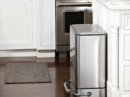 kitchen innovative of trash can ideas cans size guide island with