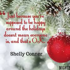 what with anxiety want others to during the holidays