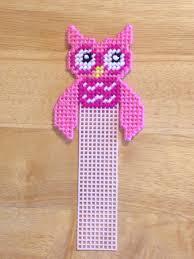pretty n pink owl bookmark pink plastic canvas owl birthday