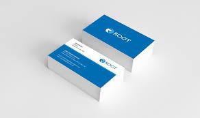 hướng dẫn thiết kế card visit root vn