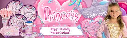 Birthday Decorations For Girls 1st Birthday Princess Party Ideas Girls Party At Birthday In A Box