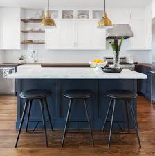 White And Blue Kitchen - great ideas using navy blue kitchen cabinets u2013 decohoms