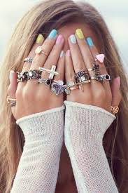 girl hand rings images Jewels girl casual cool tumblr like hands ring fashion jpg
