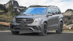 mansory mercedes mansory reveals dark yet more powerful version of mercedes amg gls 63