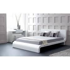 Modern Wooden Beds Modern Wooden Beds Allmodern Roma Panel Bed Loversiq