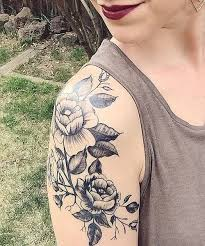 Tattoos On Shoulder For - flower tattoos on shoulder for styles beat
