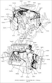 Ford 302 Distributor Wiring Diagram Ford Truck Technical Drawings And Schematics Section E Engine