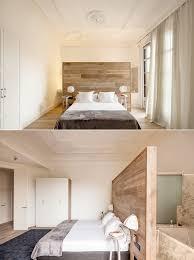 bedroom apartment bachelor bedroom features wooden platform bed