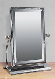 Free Standing Bathroom Mirror Miller Classic Chrome Bathroom Rectangular Freestanding Table