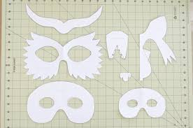 diy cardboard animal masks halloween project nursery