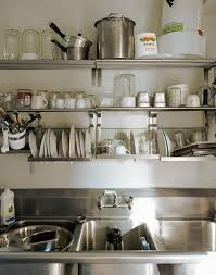 awesome inspiration ideas commercial kitchen shelving stylish
