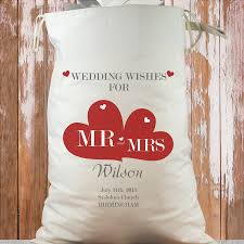 wedding wishes birmingham personalised heavy cotton wedding sack wedding wishes
