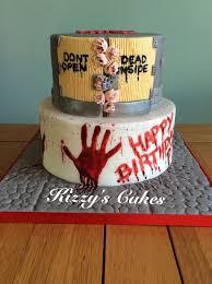 walking dead birthday cake best 25 walking dead cake ideas on