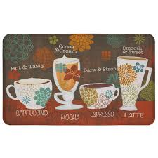 Mohawkhome Mohawk Home Tasty Coffee Words 18 In X 30 In Kitchen Mat 531027