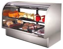 T 72 Interior Tcgg 72 S 6 Foot Curved Glass Deli Case 2 Doors Stainless Steel