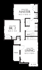 Storybook Floor Plans Mascord House Plan 1173a The Goldberry