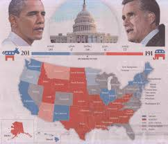 Romney Obama Map Us Election Down Under How Australia U0027s Media Outlets Are Covering
