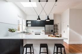 white kitchen cabinets and floors kitchens with black cabinets
