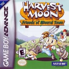 harvest moon harvest moon friends of mineral town gameboy advance gba rom