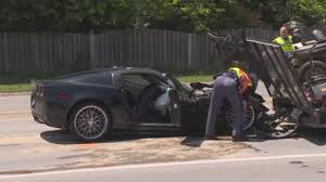 police corvette corvette clocked at 132 mph triggers chase ending in west omaha crash