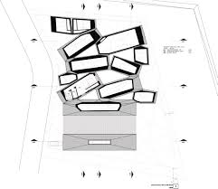 Floor Plan With Roof Plan Gallery Of Ordos 100 7 Mos Architects 29
