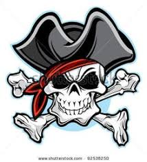 metal pirate jolly roger flag wall hanging 16 by marriedtothemetal