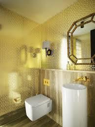 Designer Bathroom Wallpaper Metallic Wallpaper Modern Bathroom Greg Natale