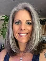 hairstyle for older women short style in warm mahogany 84 best gray wavy coarse hair cuts images on pinterest grey hair