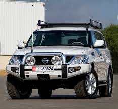 nissan uae arb frontal protection bull bar nissan patrol y62 arb 3927020