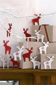 Christmas Deer Decorations by Santa U0027s Sleigh U0026 Rudolph Ornament Christmas Table Decoration