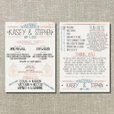cool wedding programs how to personalize your wedding ceremony