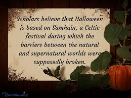 The Origins Of Halloween by The Festival Of Samhain