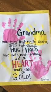 handmade grandparent gifts presents esau room craft grandparents and gift