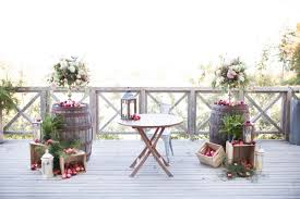 apple orchard wedding at seacider farm u0026 ciderhouse trend decor
