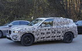 first spy shots of bmw u0027s all new 2018 x3