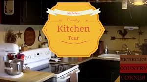 kitchen design ideas country kitchen tour youtube